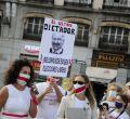 Ciudadanos bielorrusos exigen en Madrid elecciones libres en su país
