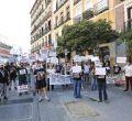 Undécimo domingo de protestas de los comerciantes del Rastro