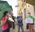 Primer día de huelga del profesorado en Madrid