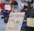 Concentración en la puerta del Congreso de los Diputados por la justicia climática