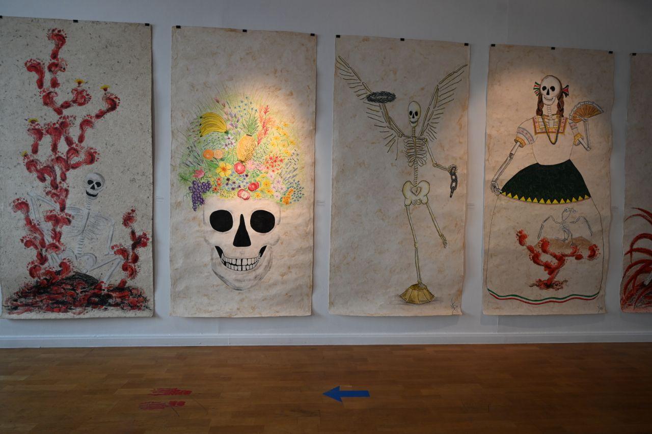 Exposición de Gabriel Sánchez Viveros en el Instituto Cultural de México en España