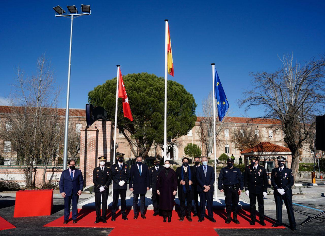 presentación de la nueva Estrategia de Seguridad Integral de la Comunidad de Madrid (ESICAM179).