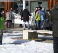 """Los vecinos de Campamento protestan por la """"nefasta"""" actuación del Ayuntamiento frente a la nevada"""