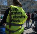 Colectivos antidesahucios inician una campaña contra la Sareb