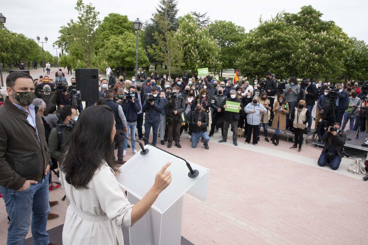 Vox celebra un acto de precampaña en Vicálvaro y pide seguridad en los barrios