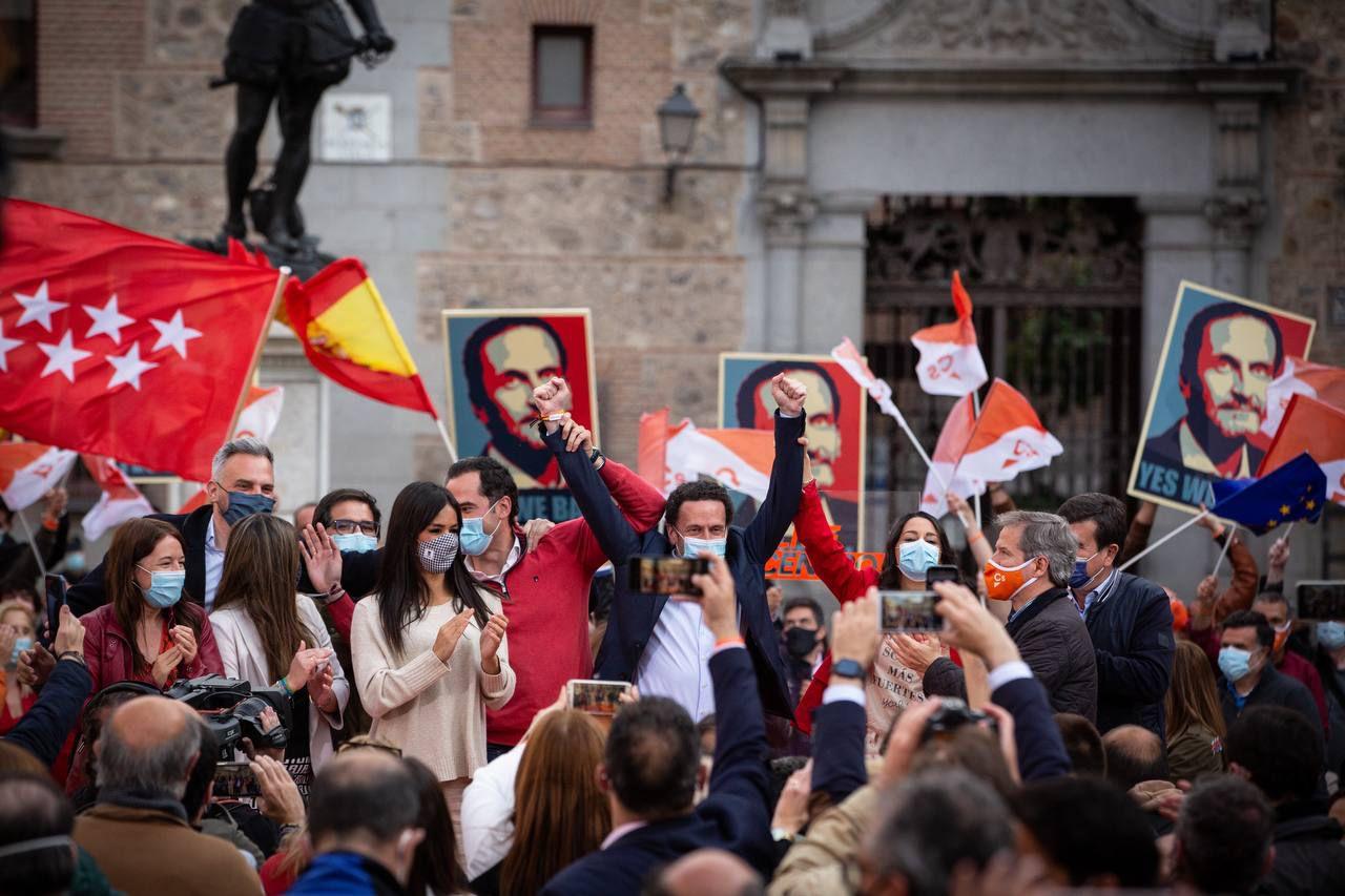 Edmundo Bal cierra la campaña electoral para este 4M por la