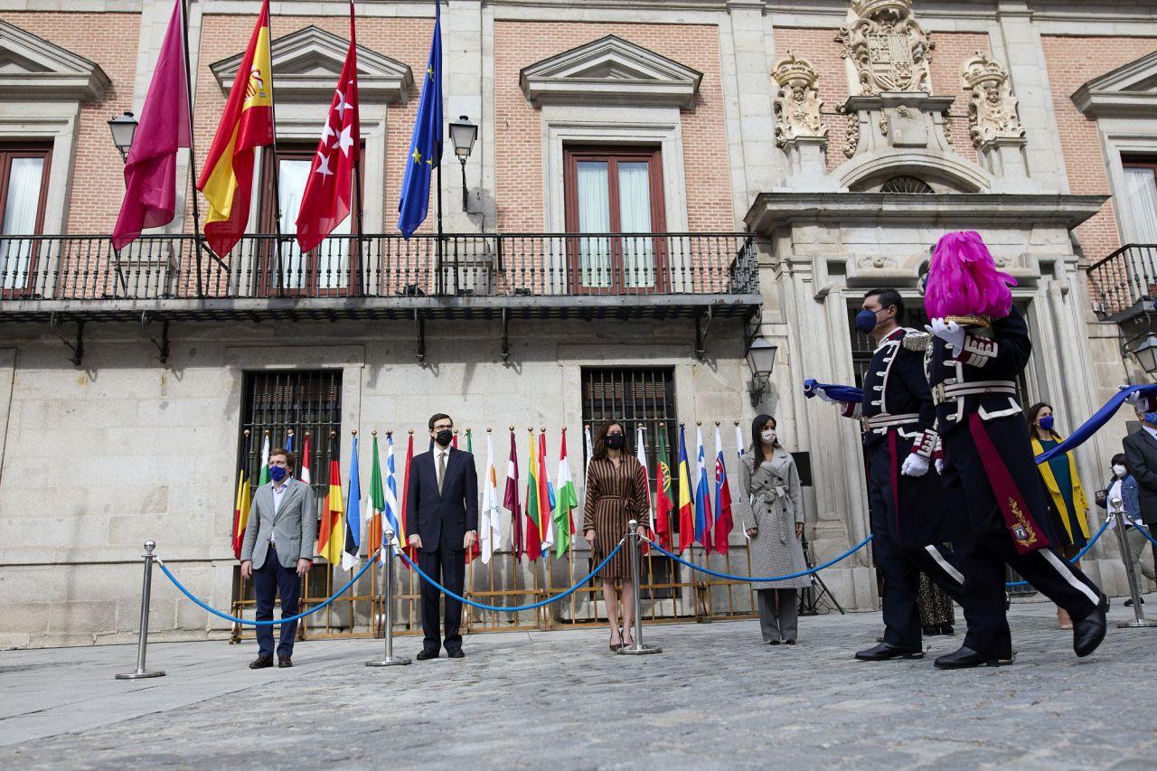 Acto de celebración del Día de Europa