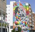 Okuda llena de color Madrid Río