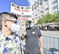 Una manifestación pide en el Congreso una ley antiocupación