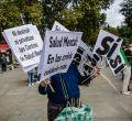 Marcha en Madrid con motivo del Día Mundial de la Salud Mental