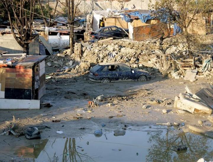 El poblado chabolista del 'Gallinero', situado en la Cañada Real, todavía trata de encajar el golpe de las inundaciones del pasado 22 de septiembre, que dejaron a numerosas familias sin sus chabolas.