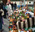 Mercado goyesco en la 'Plaza de la Luna'