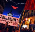 Protesta contra la privatización de la educación