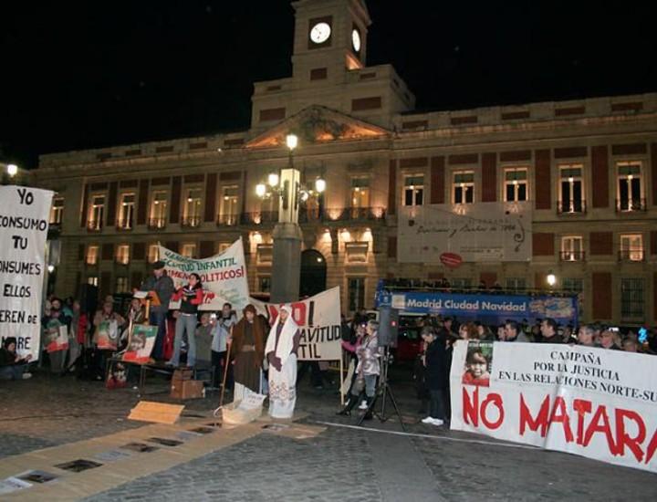 El Movimiento Cultural Cristiano convoca una marcha solidaria contra el hambre, el paro y la esclavitud infantil.