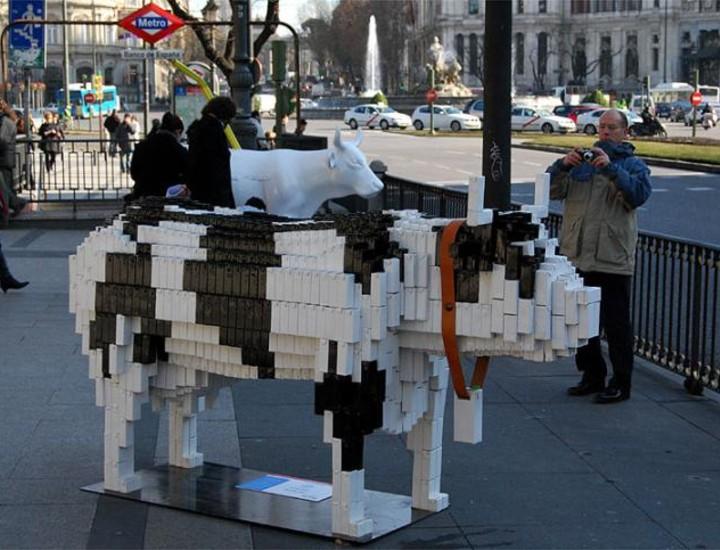 Madrid se convierte en pasto de las vacas