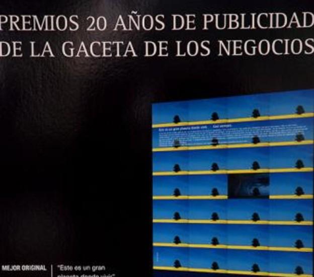 Exposición sobre publicidad.