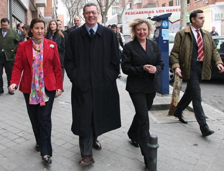 El 'friki-paseo' de Gallardón por Tetuán