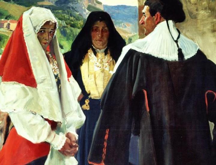 En 1911, la Hispanic Society of America de Nueva York encargó a Joaquín Sorolla que plasmase la vida española en 14 paneles. El Museo Sorolla rescata ahora 33 estudios relacionados con este trabajo.