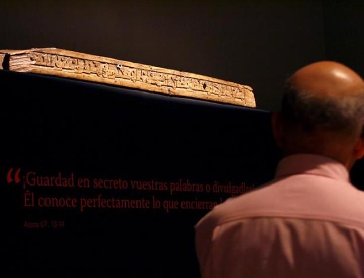 """Caixaforum de Madrid acoge la exposición """"Los mundos del Islam"""", que a través de 190 objetos muestra catorce siglos de arte y en la que se exhiben objetos muy representativos de Al Andalus."""