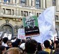Arquitectos, médicos y estudiantes contra Bolonia