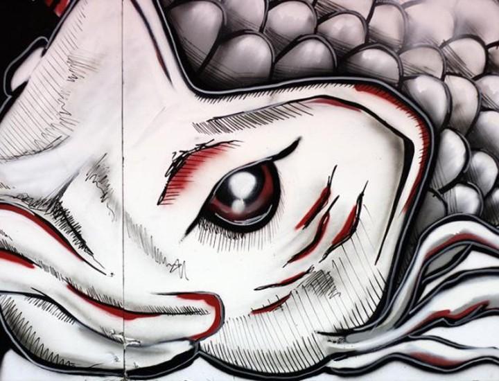 """El concejal, Manuel Troitiño, ha inaugurado este jueves, en el Centro Cultural de La Elipa, la exposición """"Esto no es Graffiti"""", que se puede visitar, de forma gratuita, hasta el 31 de enero."""
