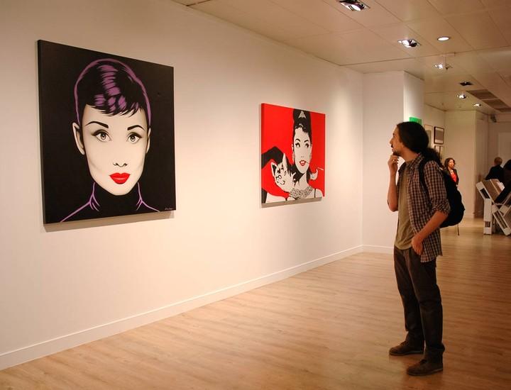 El Espacio de las Artes de El Corte Inglés de Castellana acoge hasta el 27 de noviembre la exposición de Antonio de Felipe, uno de los máximos exponentes del arte pop en España.