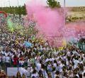 Holi Run Espa�a ha congregado este s�bado a m�s de 10.000 personas en la <strong><a href=