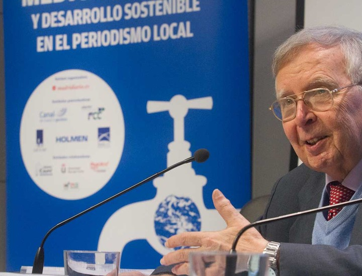 Ramón Llamas, director del Observatorio del Agua de la Fundación Botín
