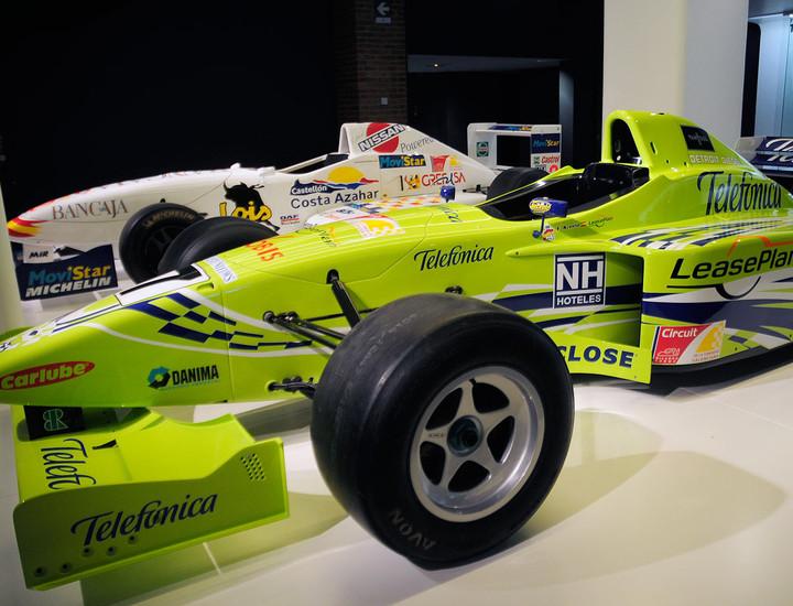 monoplazas fórmula Fernando Alonso