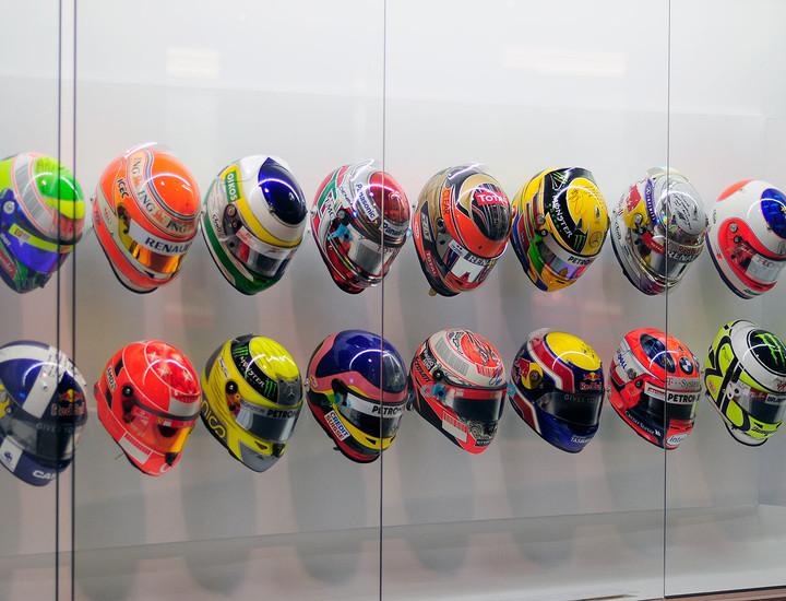 cascos pilotos formula 1 fernando alonso