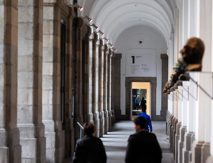 Galer a madridiario un recorrido por el reina sof a claustro del edificio sabatini - Casa del libro xanadu ...