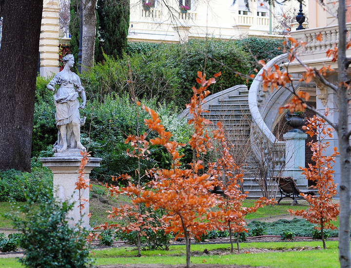 Galería Madridiario - Un palacete dedicado al arte - Jardín y ...