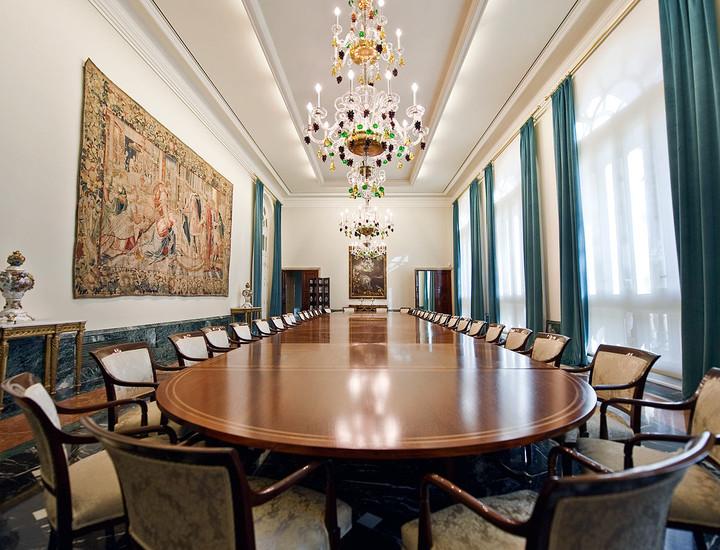 Galería Madridiario - El banco de los bancos - Comedor de gala del ...