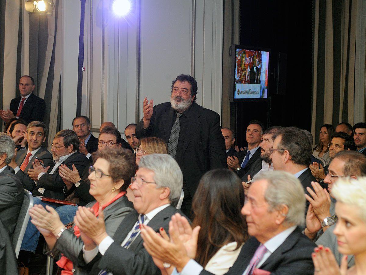Jose Manuel Utande en los premios