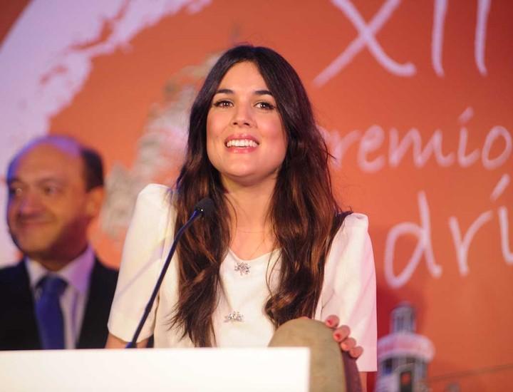 La actriz Adriana Ugarte.