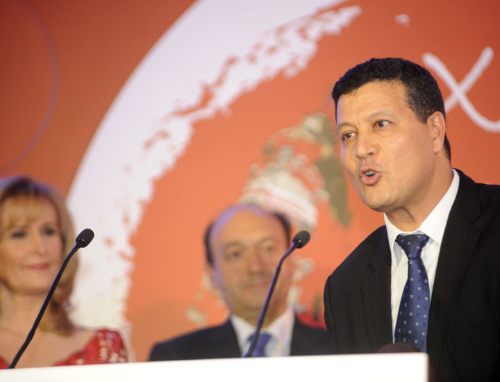 Director de la Oficina de Turismo de Marruecos en España, Mohammed Sofi, durante su intervención.
