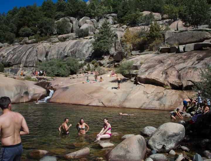 Charca Verde Pedriza Parque Natural Sierra de Guadarrama