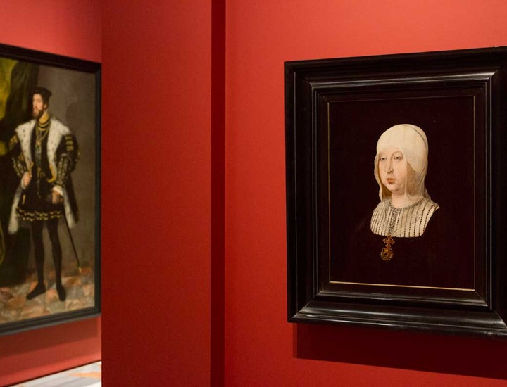 retratos reyes, exposición, palacio real, familia real, antonio lópez