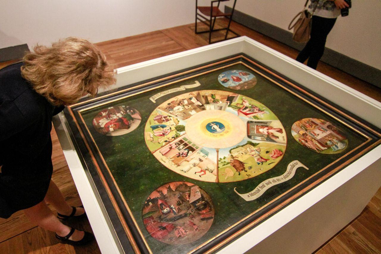 Galer a madridiario el bosco conquista el museo del - La mesa de los pecados capitales ...