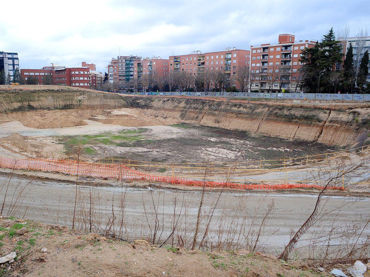 Parcela en la que está previsto construir un estadio de atletismo (13 millones de euros)