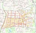 Se duplican las calles principales a efectos de limpieza: así quedan los distritos