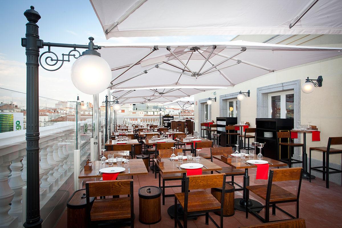 Galer a madridiario un espacio gastron mico de lujo en la puerta del sol nuevo espacio - Restaurante de chicote en puerta del sol ...