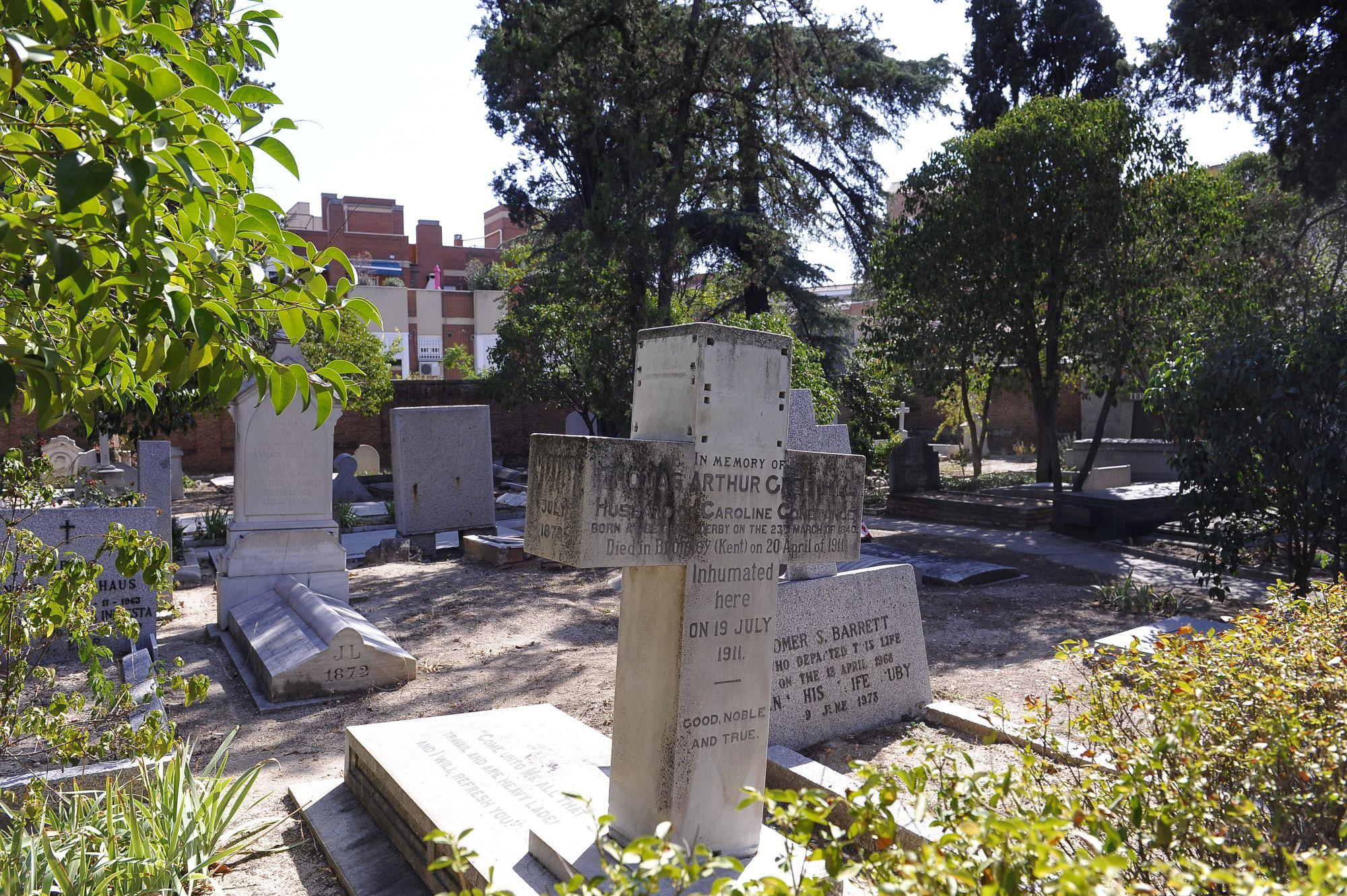 Galeria Madridiario El Desconocido Cementerio Britanico Imagen
