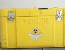 Alerta por la sustracción de un equipo radiactivo