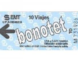 17,7 millones de viajes con bonotet hasta noviembre