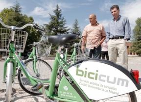 El alquiler de bicicletas de Ciudad Universitaria lleva seis meses cerrado