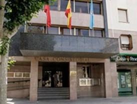 Encierro sindical en el Ayuntamiento de Leganés