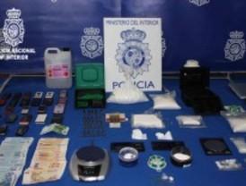Desarticulada una red de tráfico de drogas
