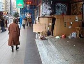 En Madrid hay 1.339 'sin techo', según un recuento municipal