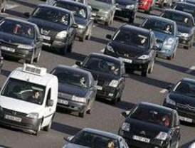 La manifestación de los taxistas madrileños dificulta las entradas a la capital